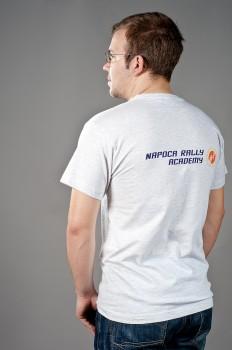 t-shirt gri spate